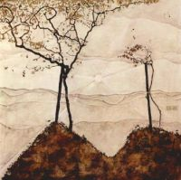 Egon Schiele - Autumn Trees