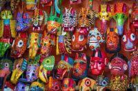 Chichicastenango Market Masks