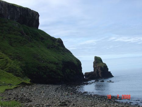 At Talisker Bay, Sjye, Scotland