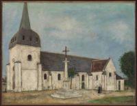 UTRILLO CHURCH AT ST HILAIRE c.1911