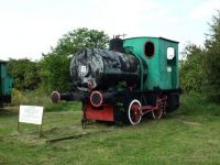 engine #17 at silver mine museum, poland