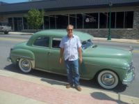 Uncle Bob, Wabash Indiana 1949 Plymouth