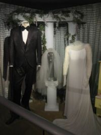 Elvis & Priscilla Presely Wedding suit & dress