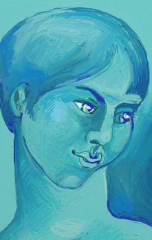 All in one colour series # 3 --Blue.