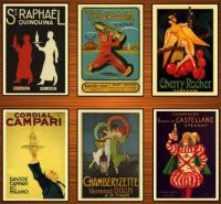 Vintage Alcoholic Beverages Posters