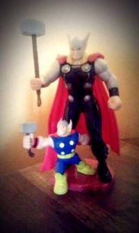 Thor & his Mini-me :D