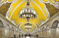 Komsomolskaya, Moscow metro, Russia