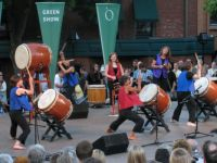 The Green Show at the Oregon Shakespeare Fesetival