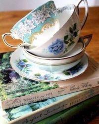 Books & Tea Cups