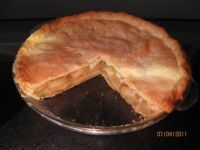 Dessert-Homemade apple pie