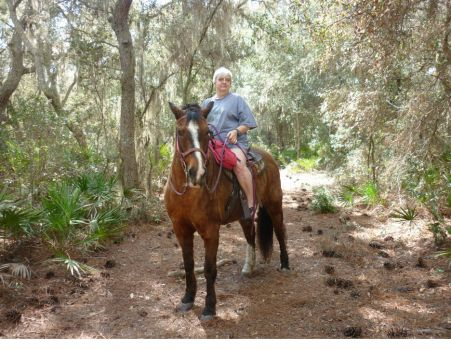 "THEME: ""Horses""  Out riding yesterday - Sawgrass Island Preserve in Central Florida"