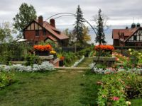 The grounds and outbuildings at Glensheen