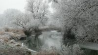 Sahy, Slovakia, a day before snow
