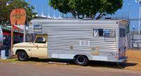 Vintage Chevy C30 Camper