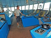 Ship's bridge, 2015 trip