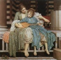 The Music Lesson- Lord Leighton