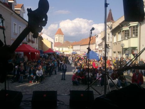 Melnik, from stage