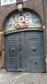 Gate in Nyhavn, Copenhagen