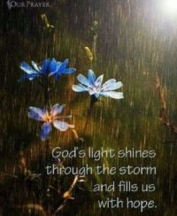 God's Light in Times of Darkness