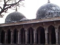 Old mosque at Chanderi, India