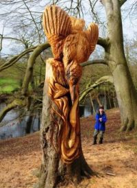 Guerrilla tree sculptur