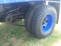 Drive Axle on the Old Truck