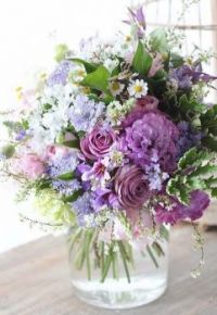 Happiness is..... Dainty Get Well Bouquet.