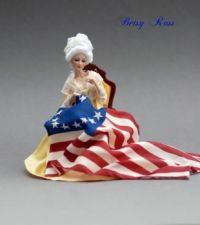 Betsy Ross Doll Plus Betsy Ross Lesson for Kids: Biography & Facts
