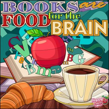 Books and Food--great combination!