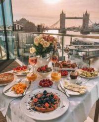 Beautiful Repast Near Tower Bridge