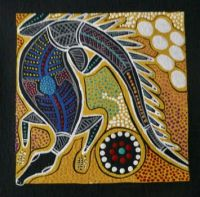 Aboriginal Art, the Goanna