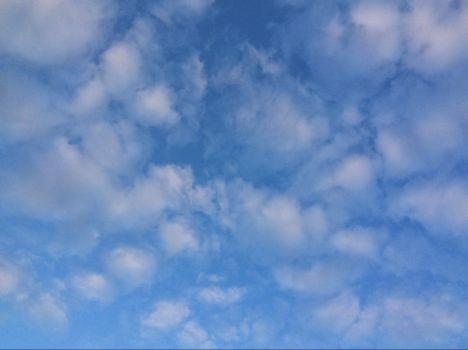 Spring sky in S. London