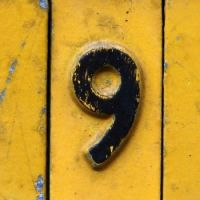 Theme: numbers - 9
