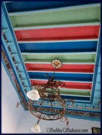 Traditional wooden ceiling, Tunisia