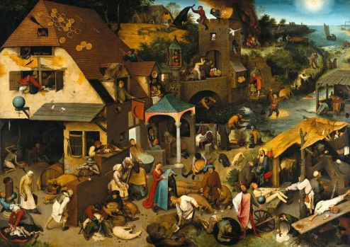 by Pieter Bruegel, small