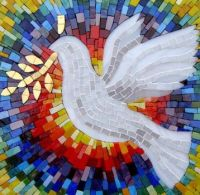 Mosaic Peace Dove
