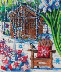 'Mountain Cabin Fever' by Diane Phalen