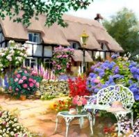 In the Cottage Garden