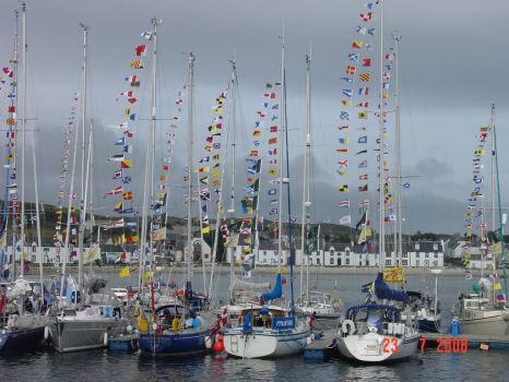 Port Ellen during Classic MAlts Cruise