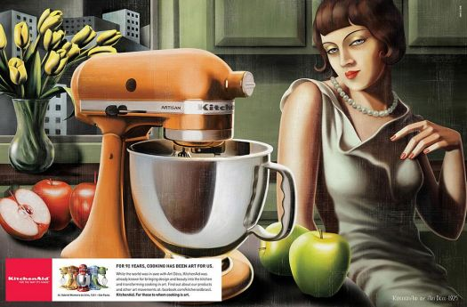 Kitchen-Aid Ad  ~   Art Deco Style