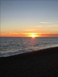 Brighton Sunset on Friday Night