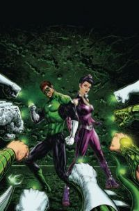 GREEN LANTERN and STAR SAPPHIRE !