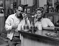 Joanne Woodward and Paul Newman-81-With and without Oscar.