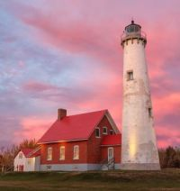 Tawas Point State Park Lighthouse -- Michigan..