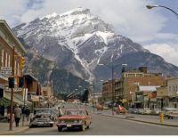 Banff Main Street, early 60's