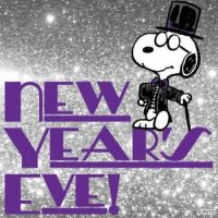 New Years Eve SNOOPY