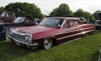 '64 Chevy Impala Lowrider  With  Loaded   Big Boy  Tray