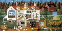{Charles Wysocki} Old Nantucket