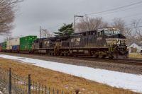 NS Westbound in Goshen, Indiana