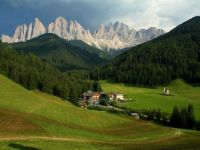 Dolomites Valley Italy